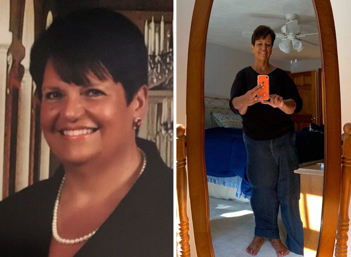 donna dube before and after weight loss