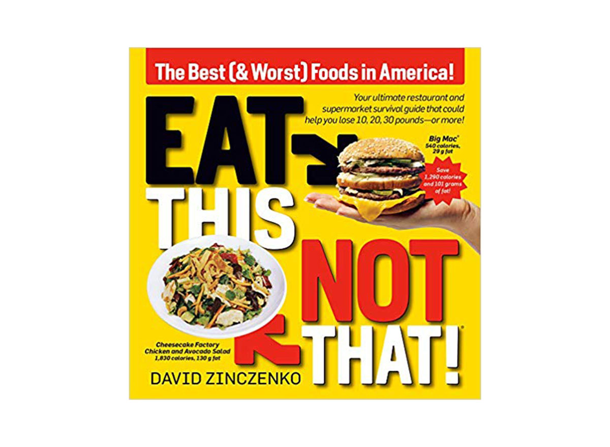 eat this not that new book cover
