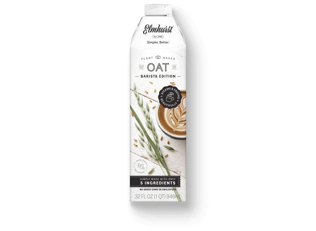 Elmnurst oat barista edition