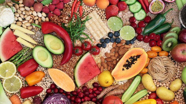pile of fruits and vegetables