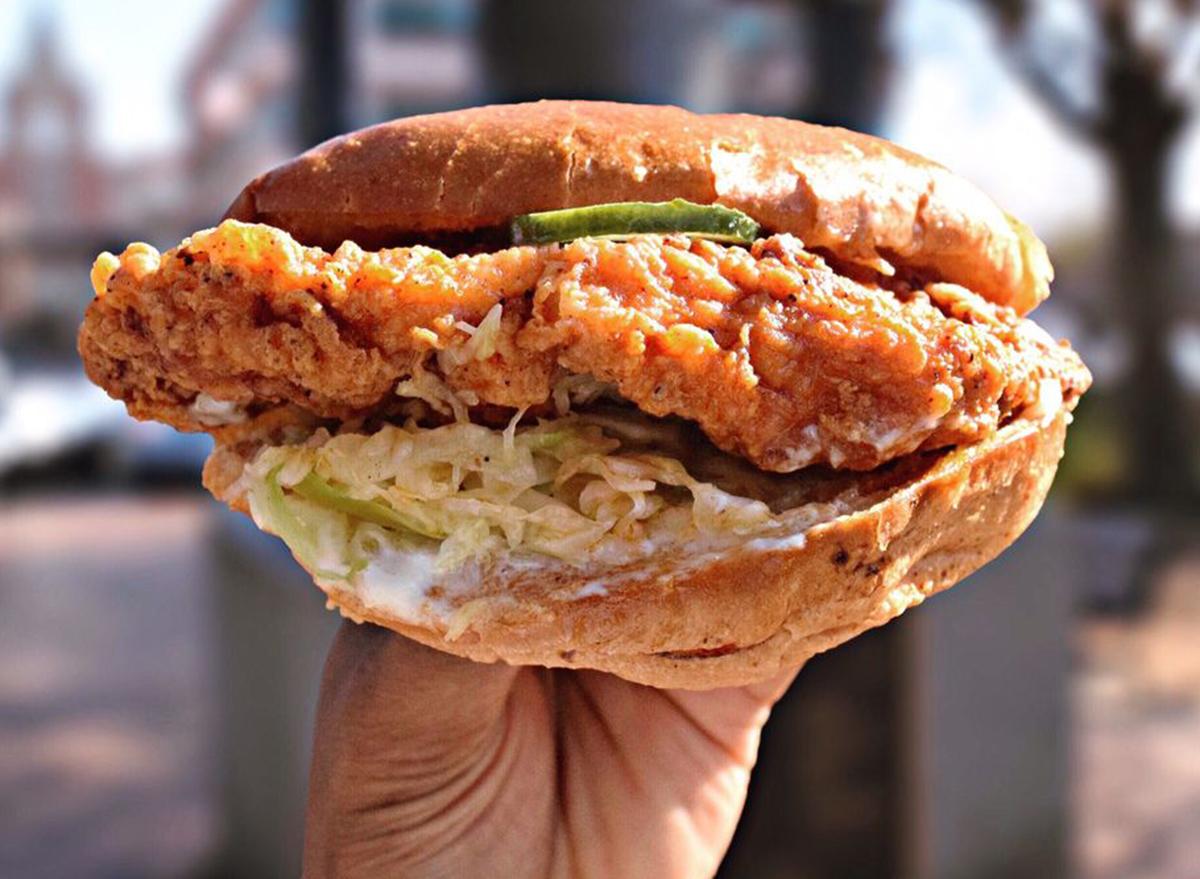 georgia chicken sandwich