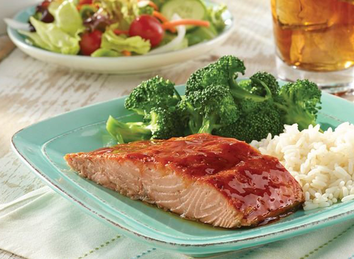 golden corral carved salmon