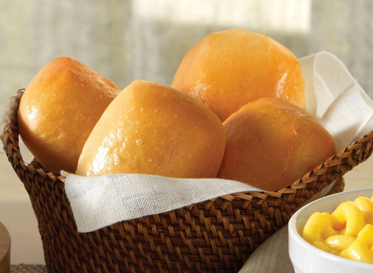 golden corral mini yeast roll
