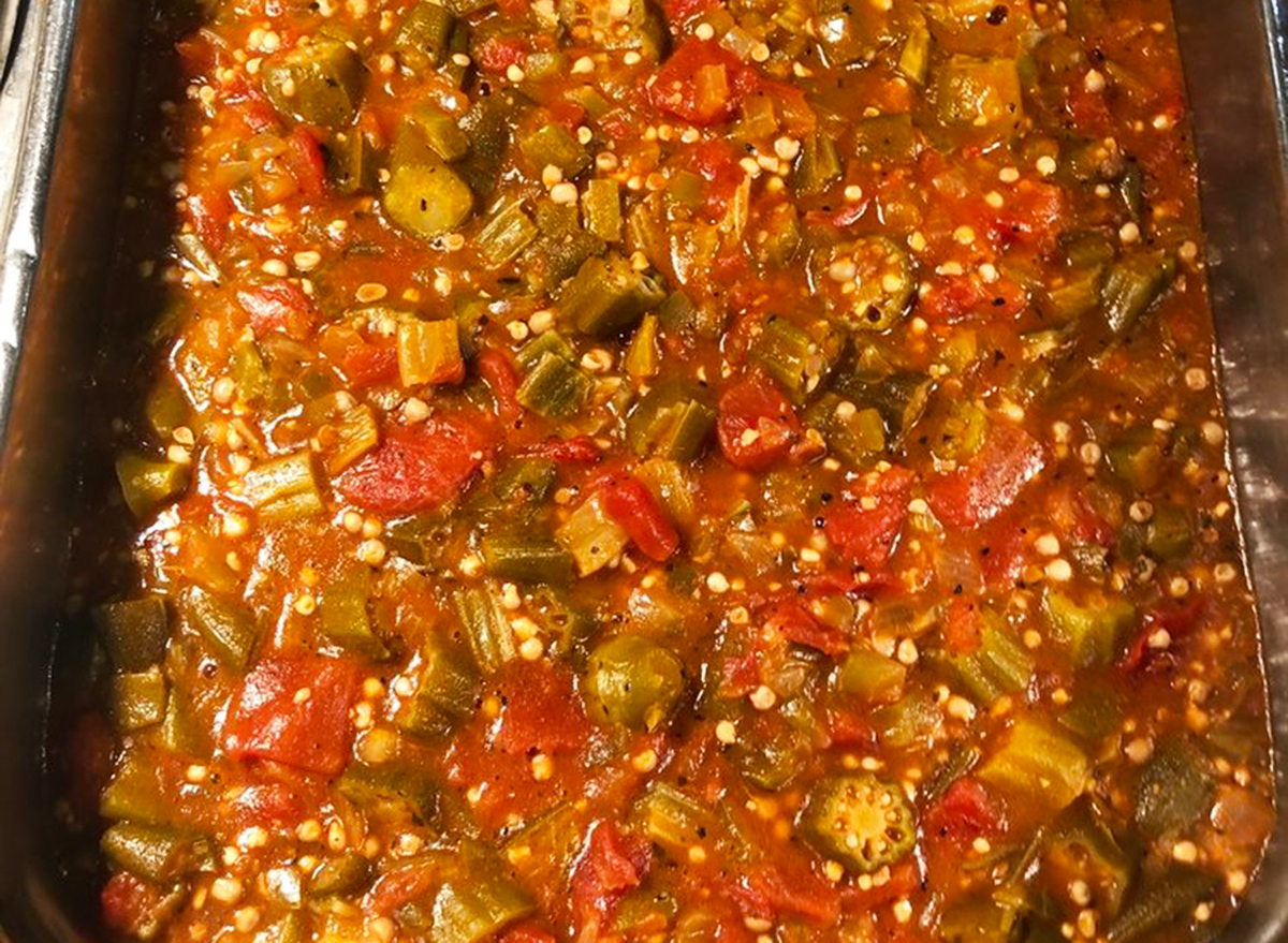 golden corral okra and tomato stew