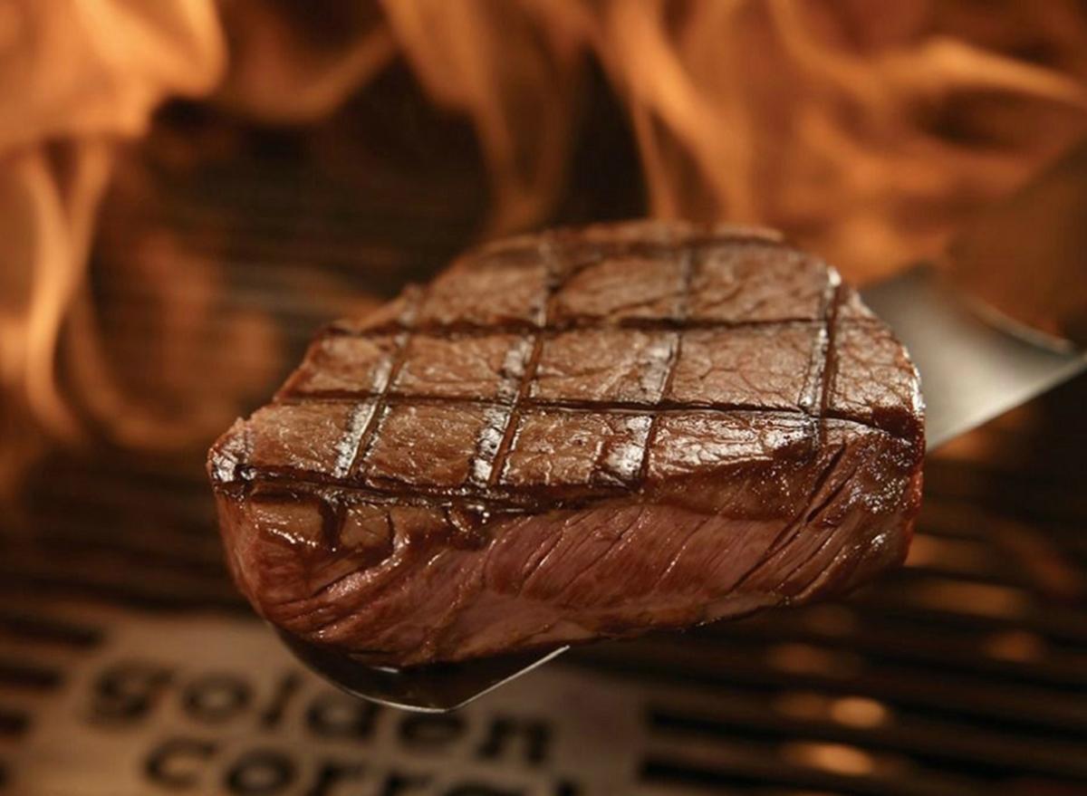 golden corral sirloin steak