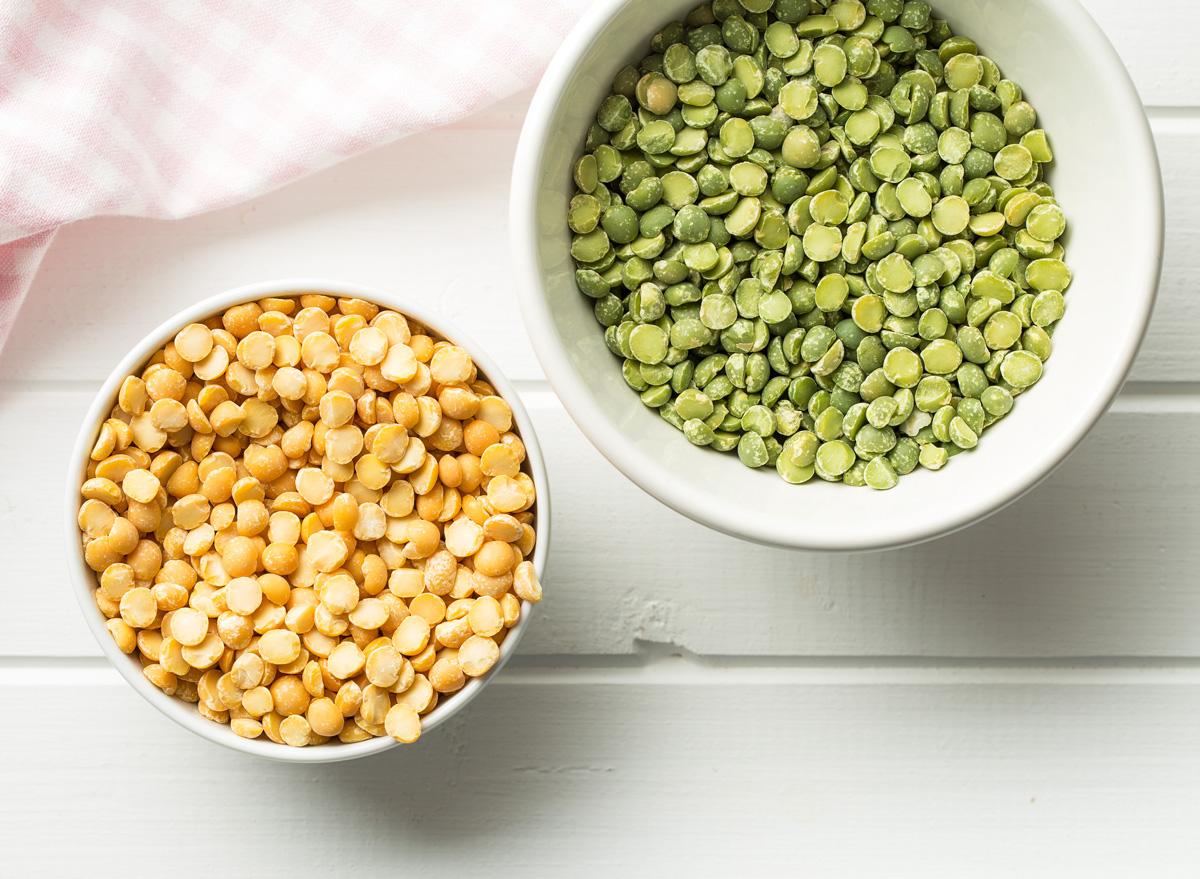 Green yellow split peas