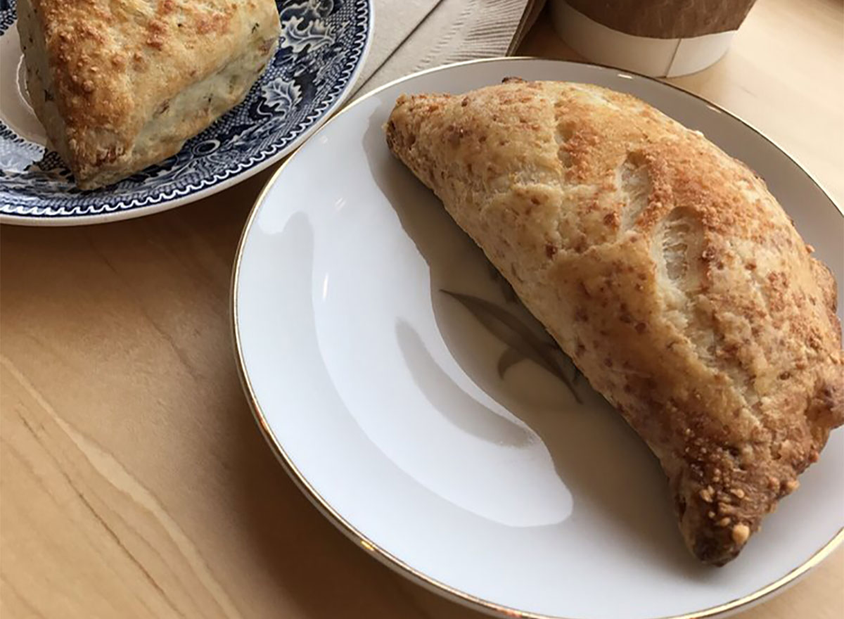 hand pie on a plate