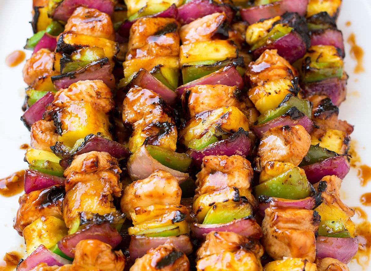 hawaiian chicken kebab