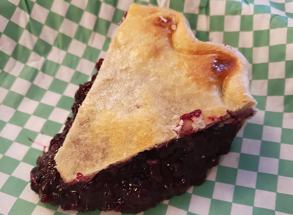 slice of huckleberry pie