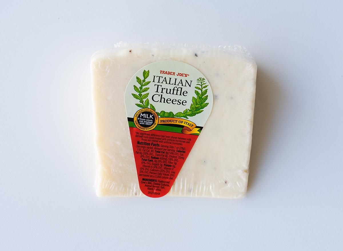italian truffle cheese from trader joe's