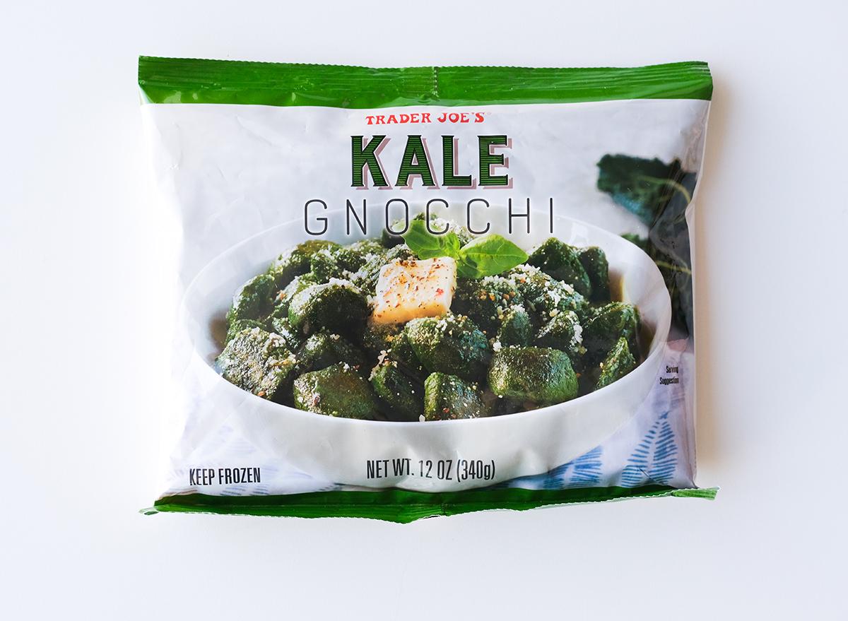 kale gnocchi from trader joe's