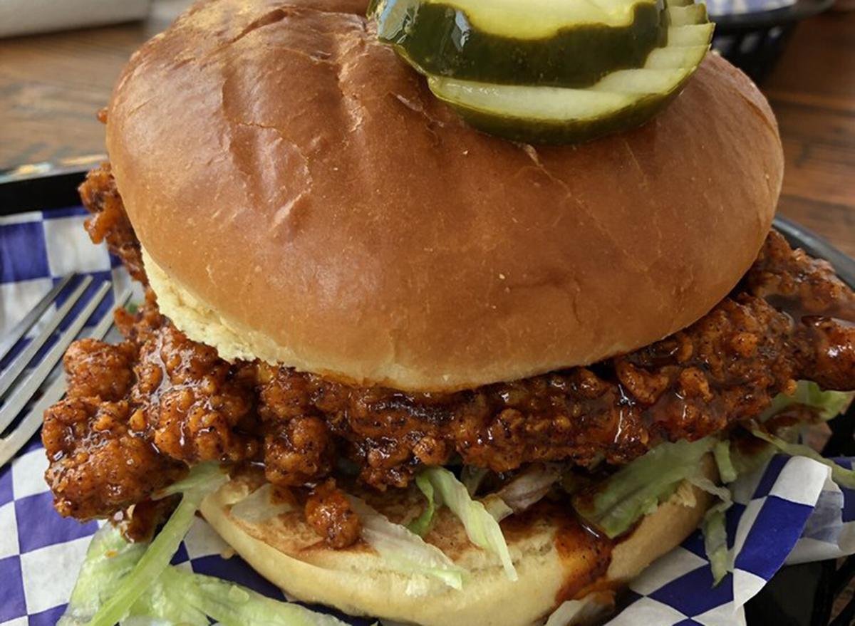 kentucky chicken sandwich