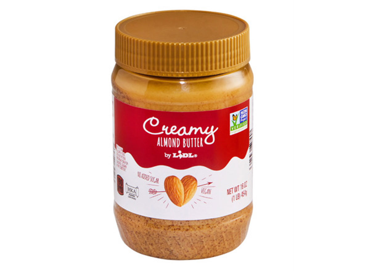 healthy foods lidl creamy almond butter