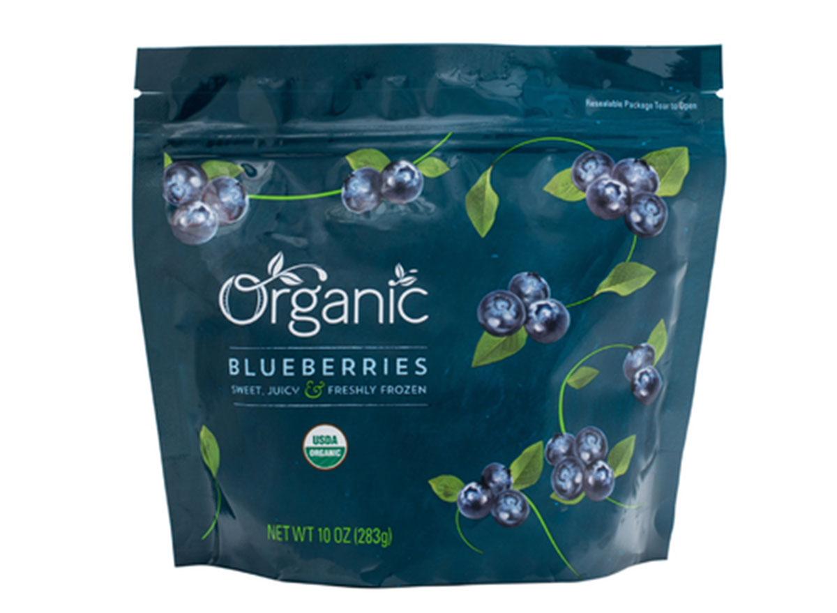 lidl organic frozen blueberries