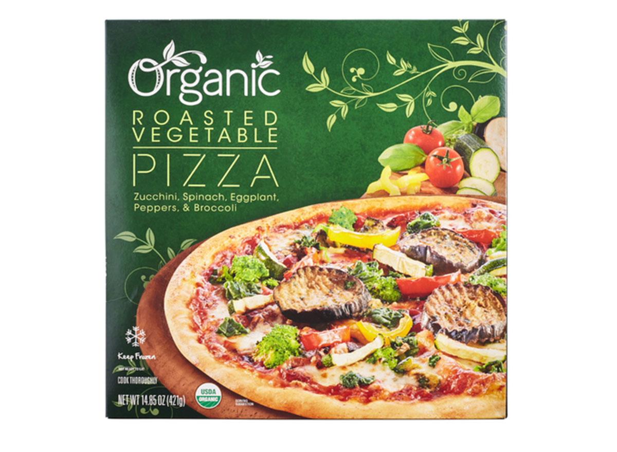 lidl healthy foods organic roasted vegetable pizza