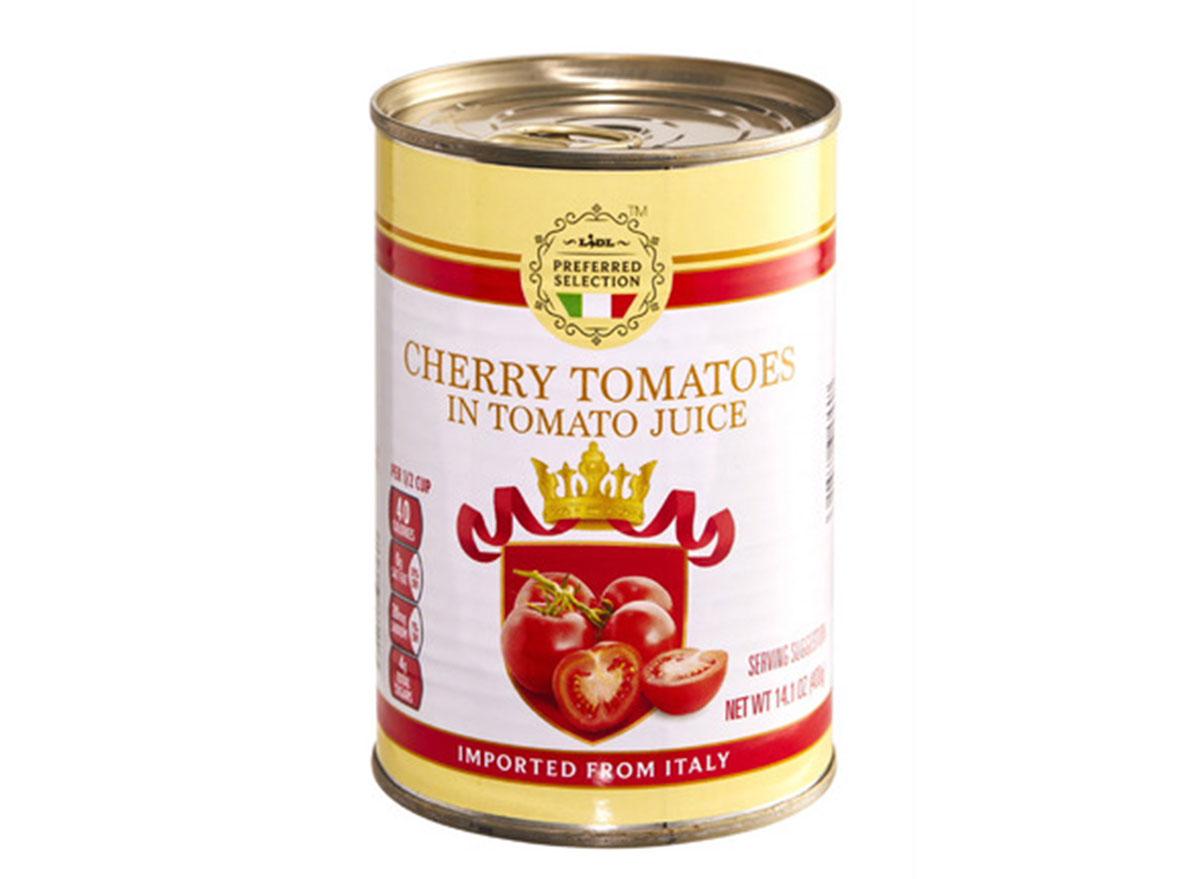 lidl cherry tomatoes in tomato juice