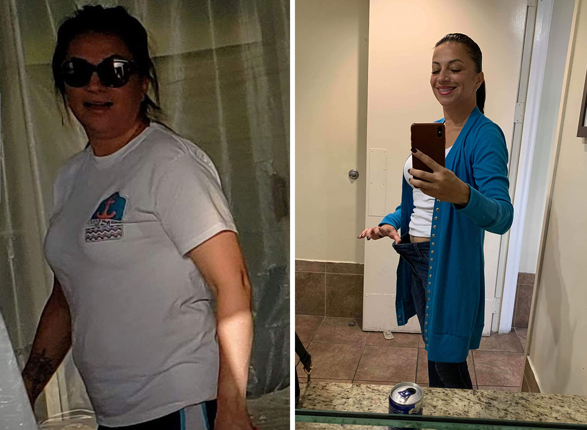 lydia e before and after weight loss