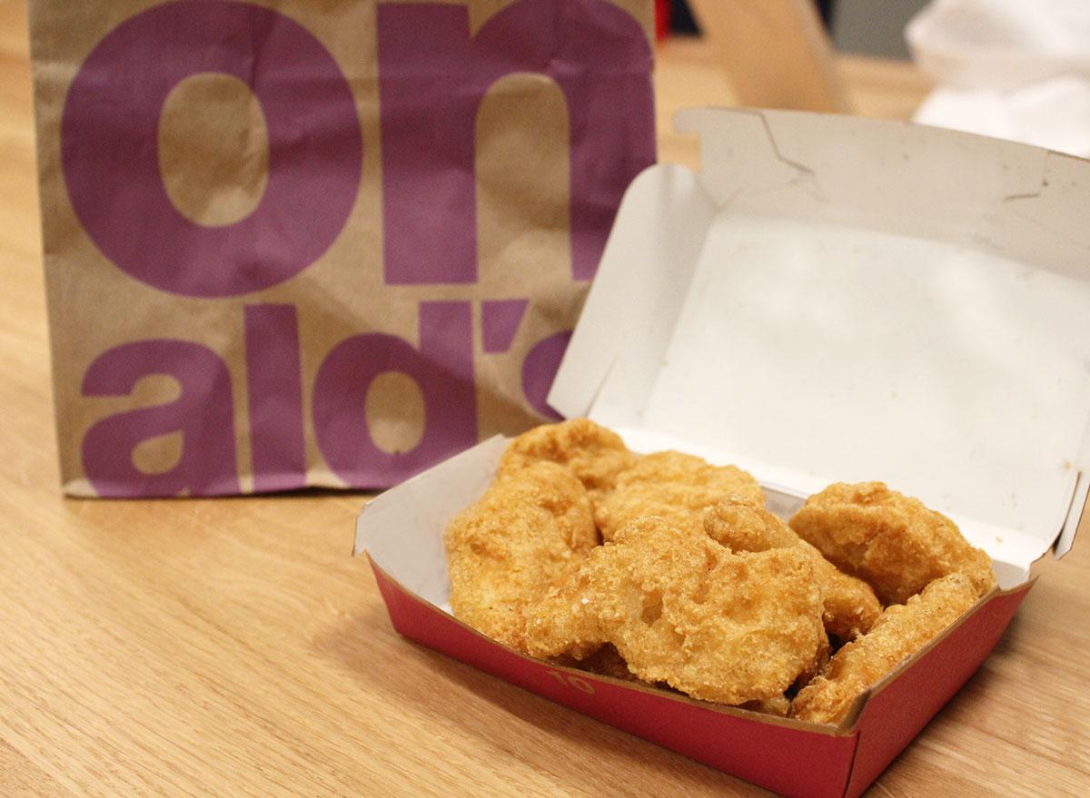 mcdonalds chicken nuggets