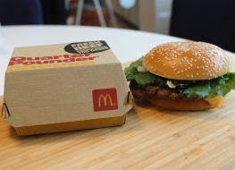 mcdonalds quarter pounder deluxe burger no ketchup
