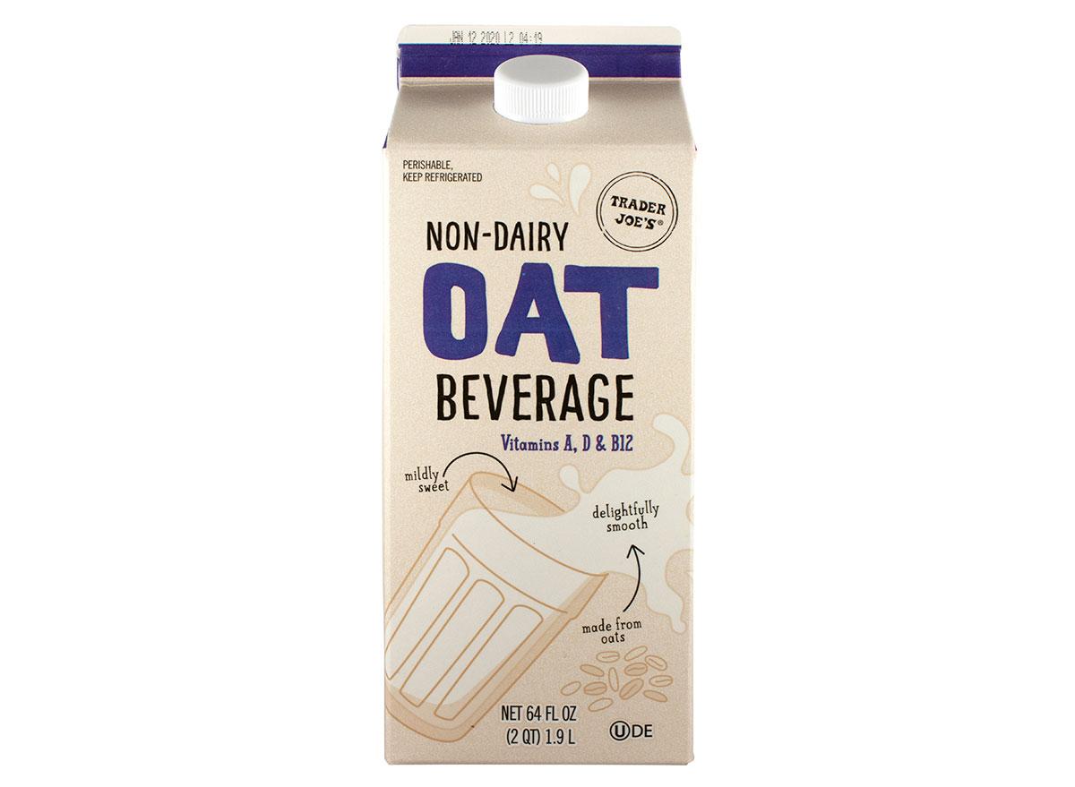 non dairy oat beverage trader joe's
