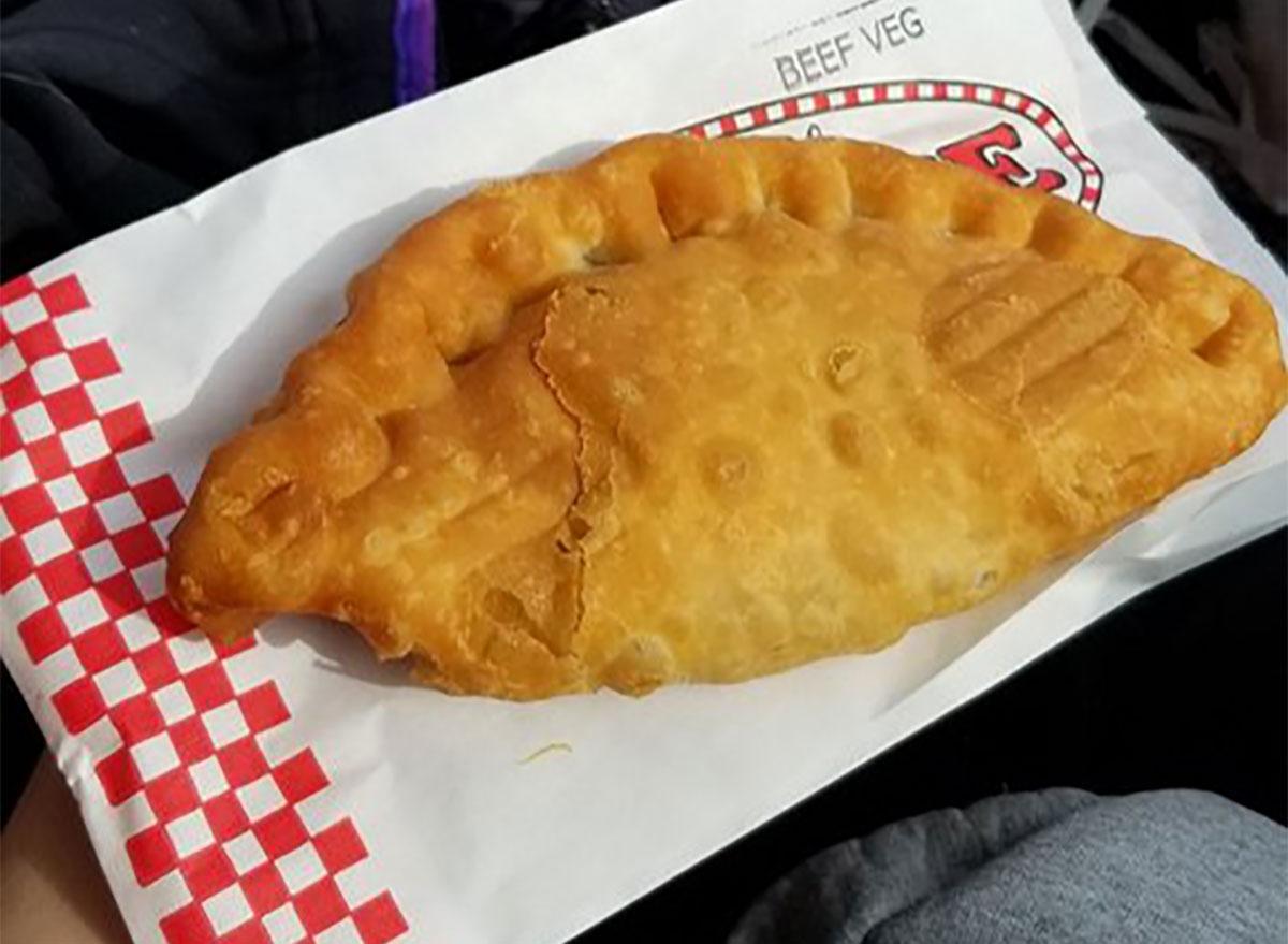 hand pie from the original fried pie shop arkansas
