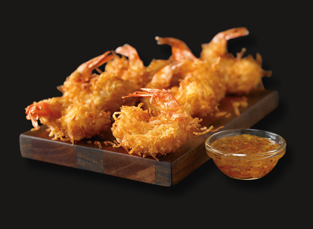 small order of outback coconut shrimp