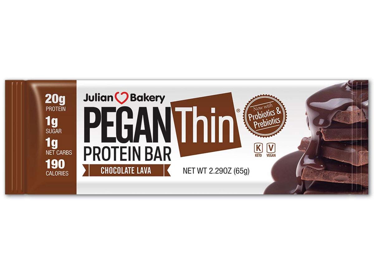 pegan thin protein bar