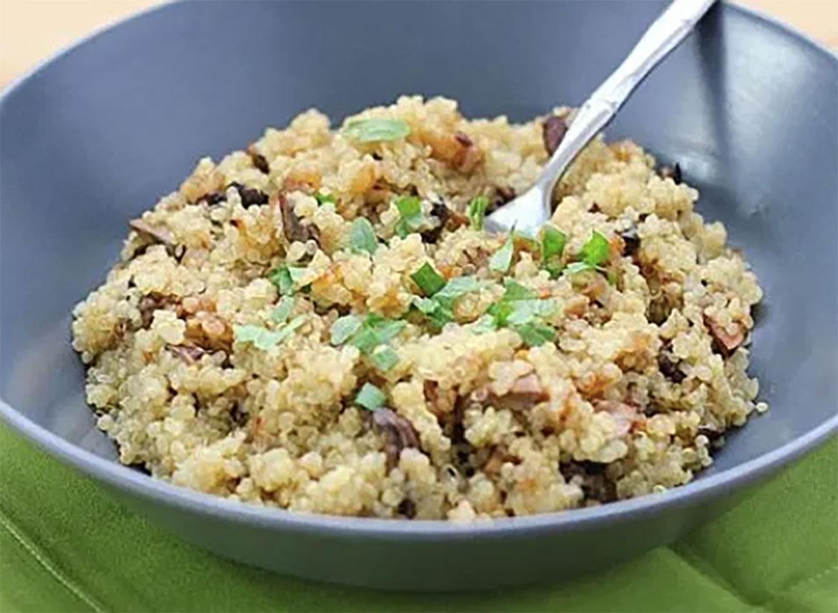bowl of quinoa pilaf