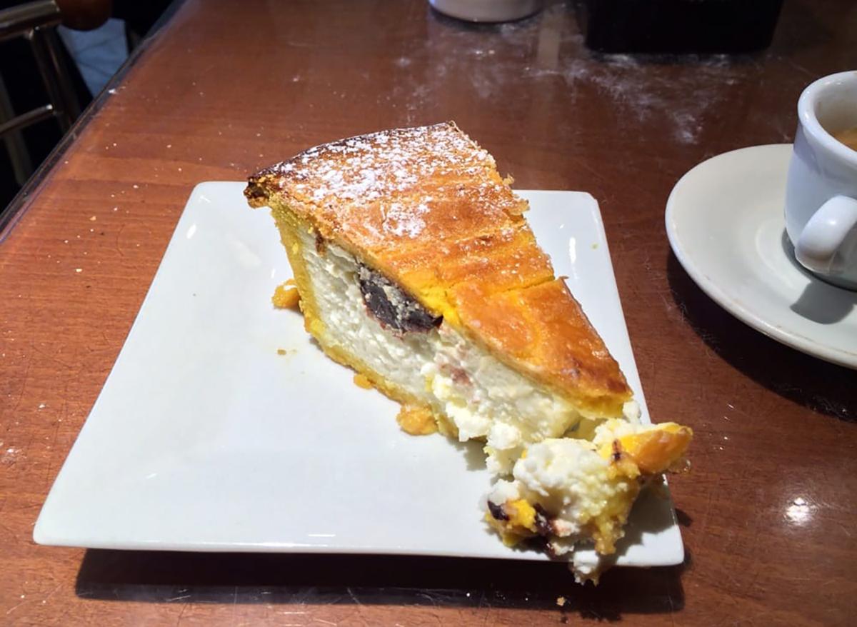 ricotta pie from modern pastry in massachusetts