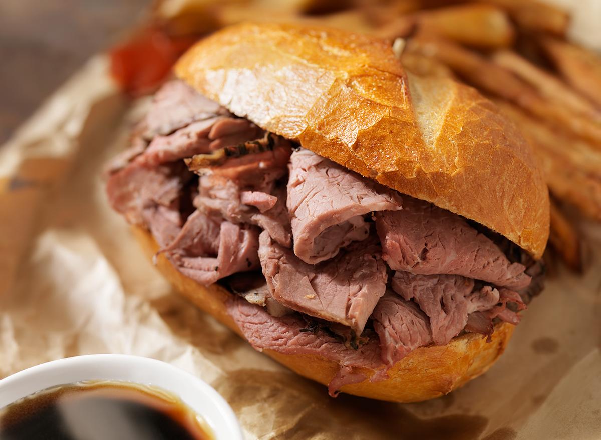 roast beef stacker