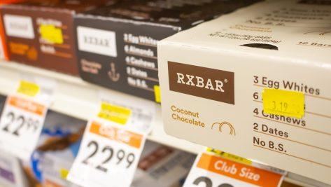 coconut chocolate rxbars