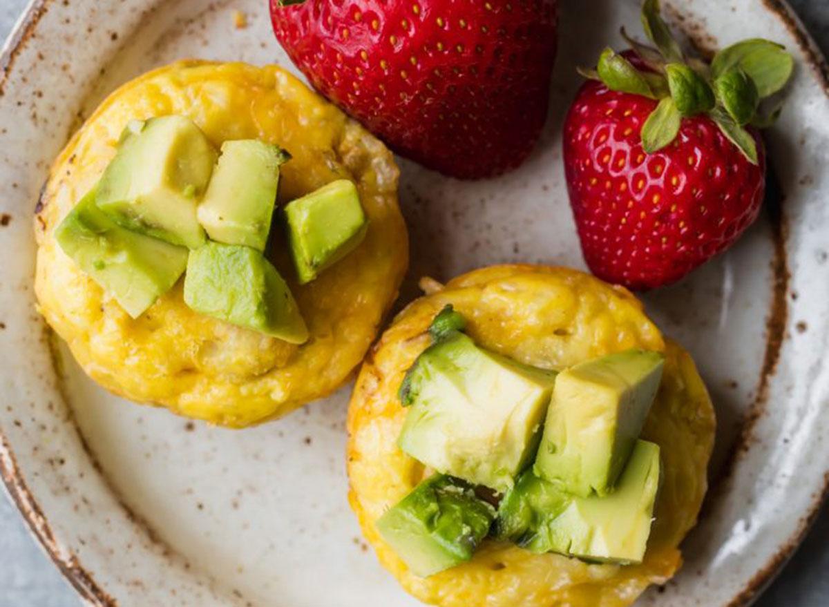 breakfast for kids savory egg muffin