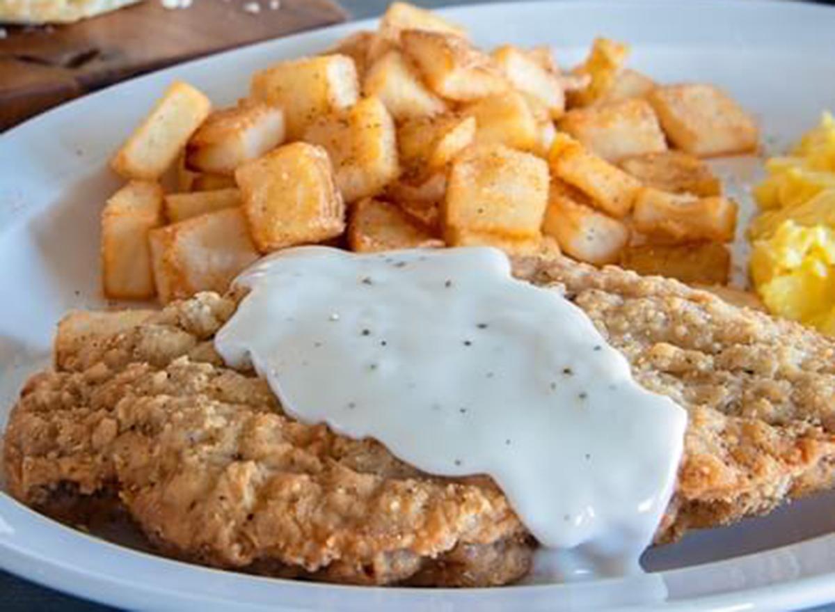 shoneys country fried steak breakfast