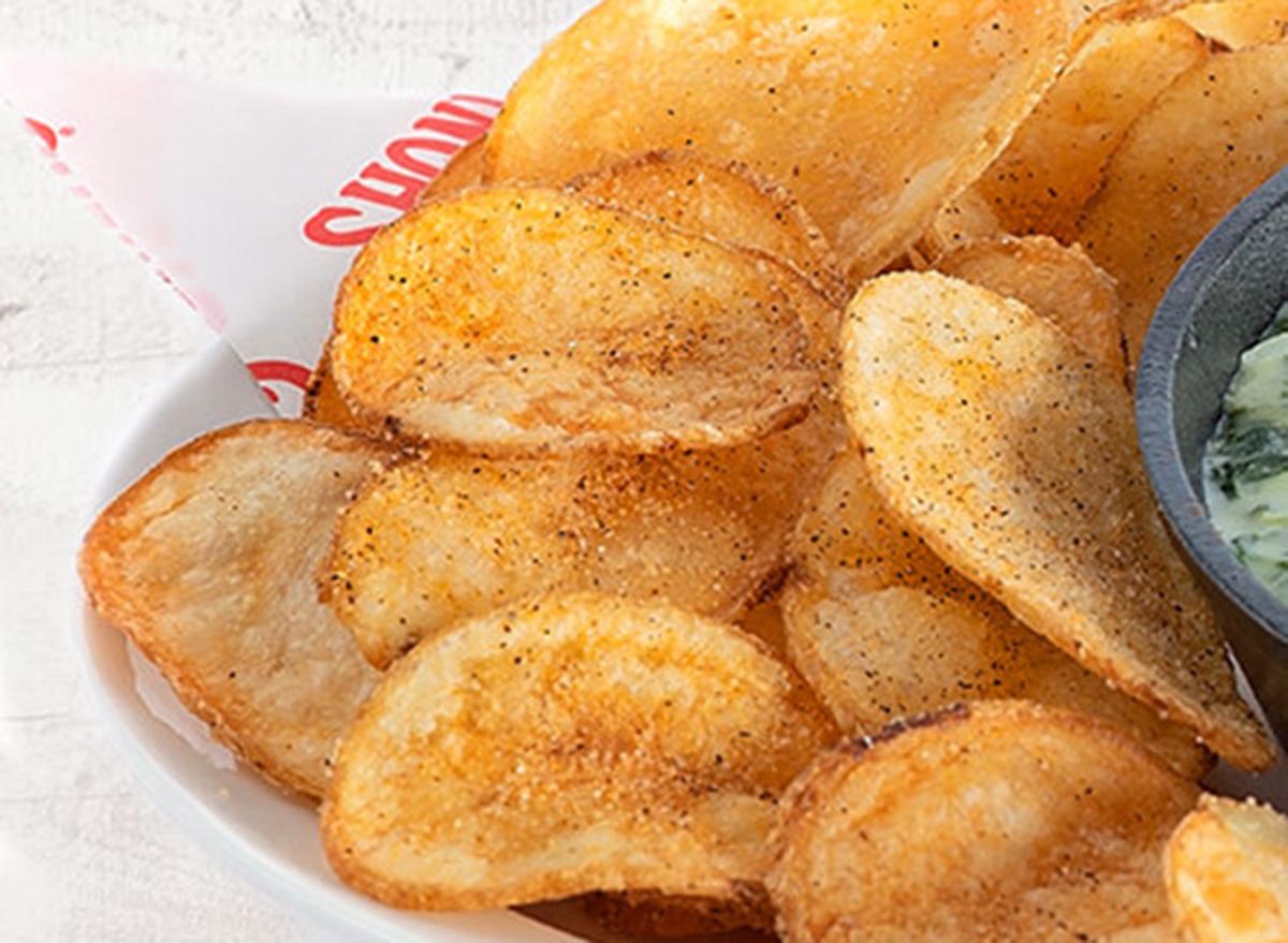 shoneys dixie tater chips