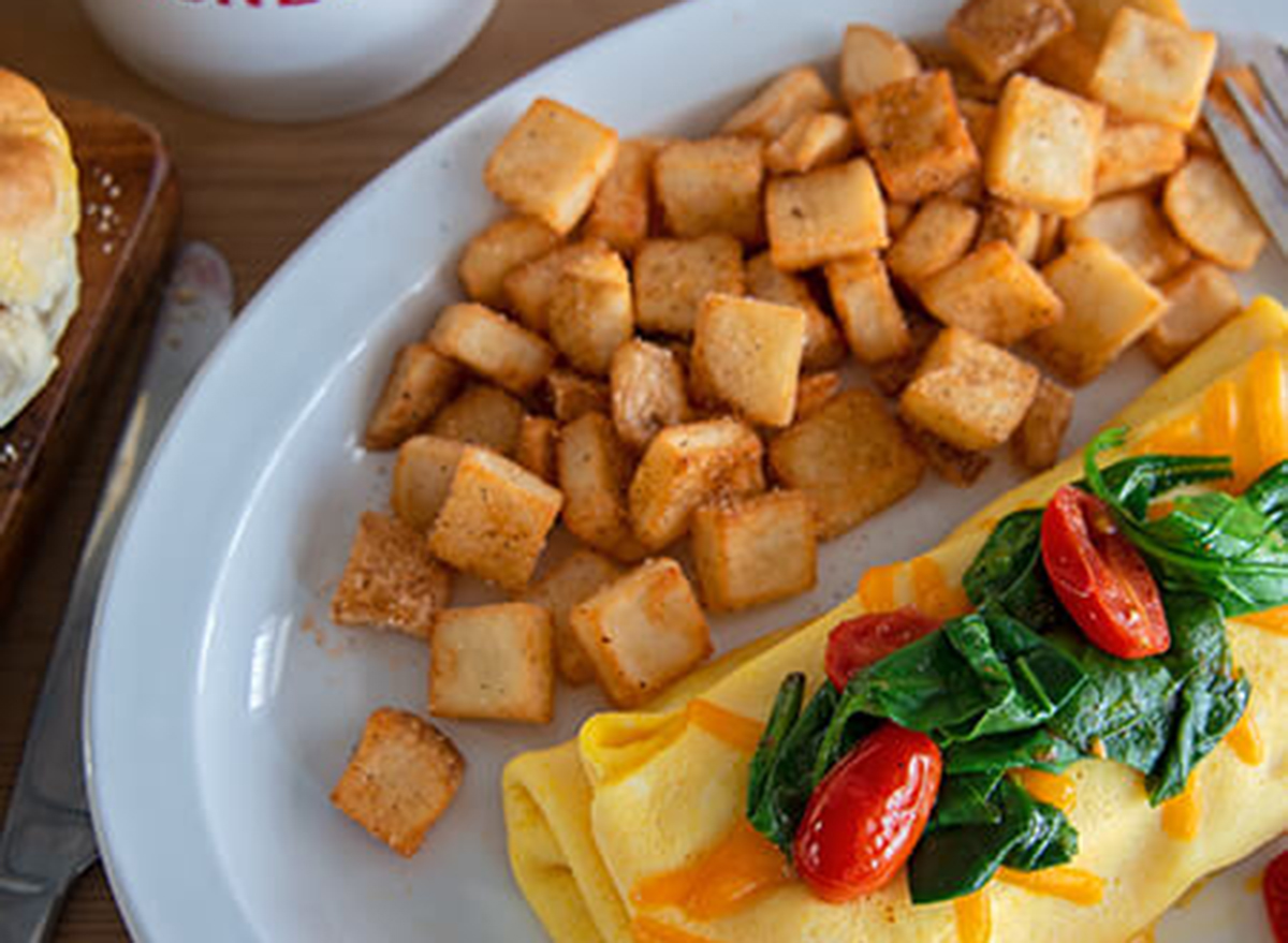 shoneys veggie omelet