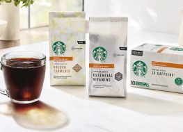 starbucks double caffeinated coffee
