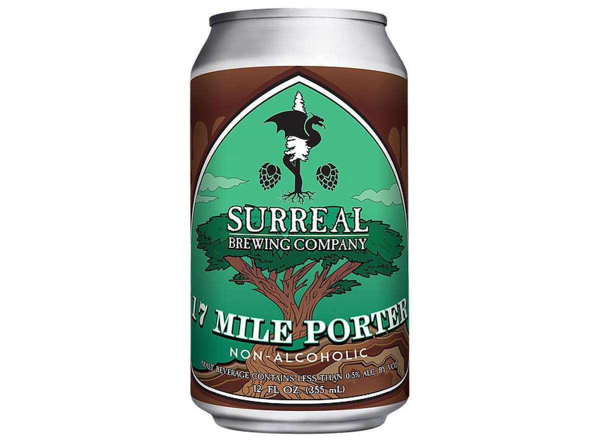 surreal brewing company 17 mile porter non alcoholic