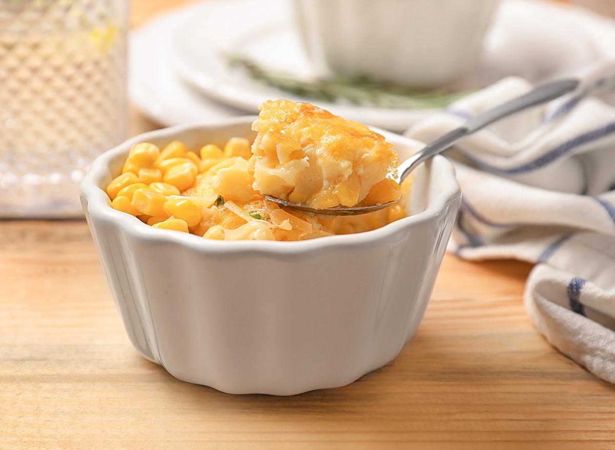 sweet corn pudding
