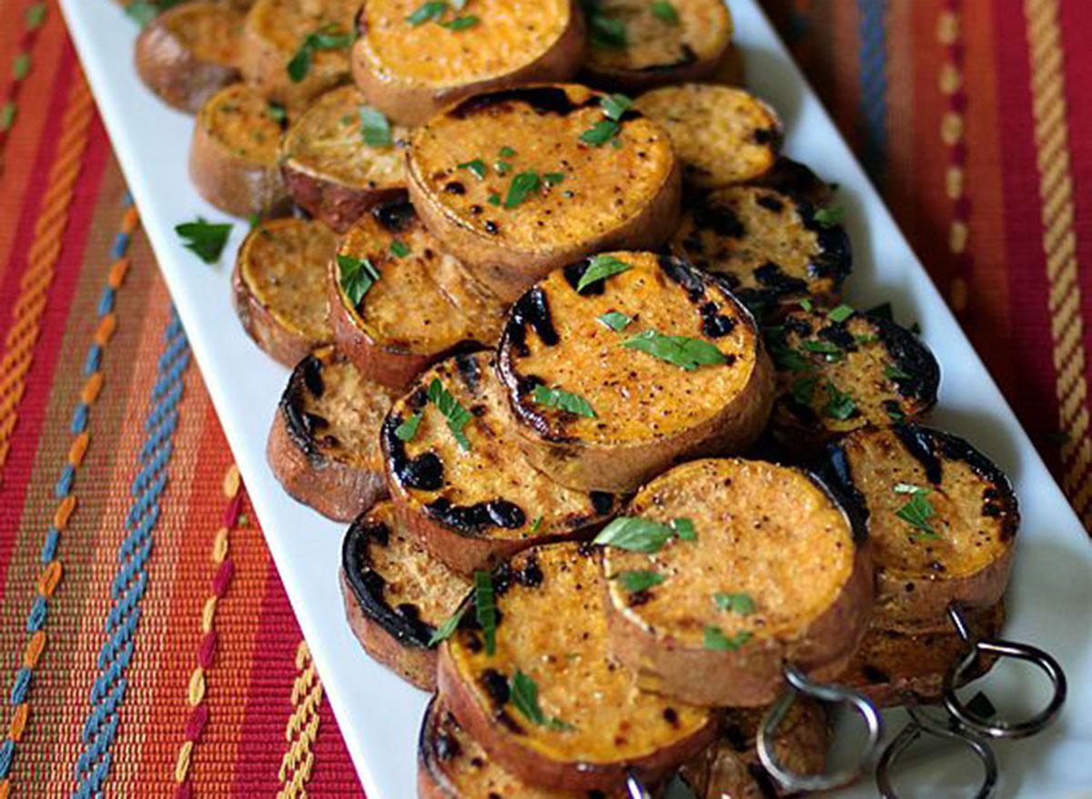 sweet potato kebab