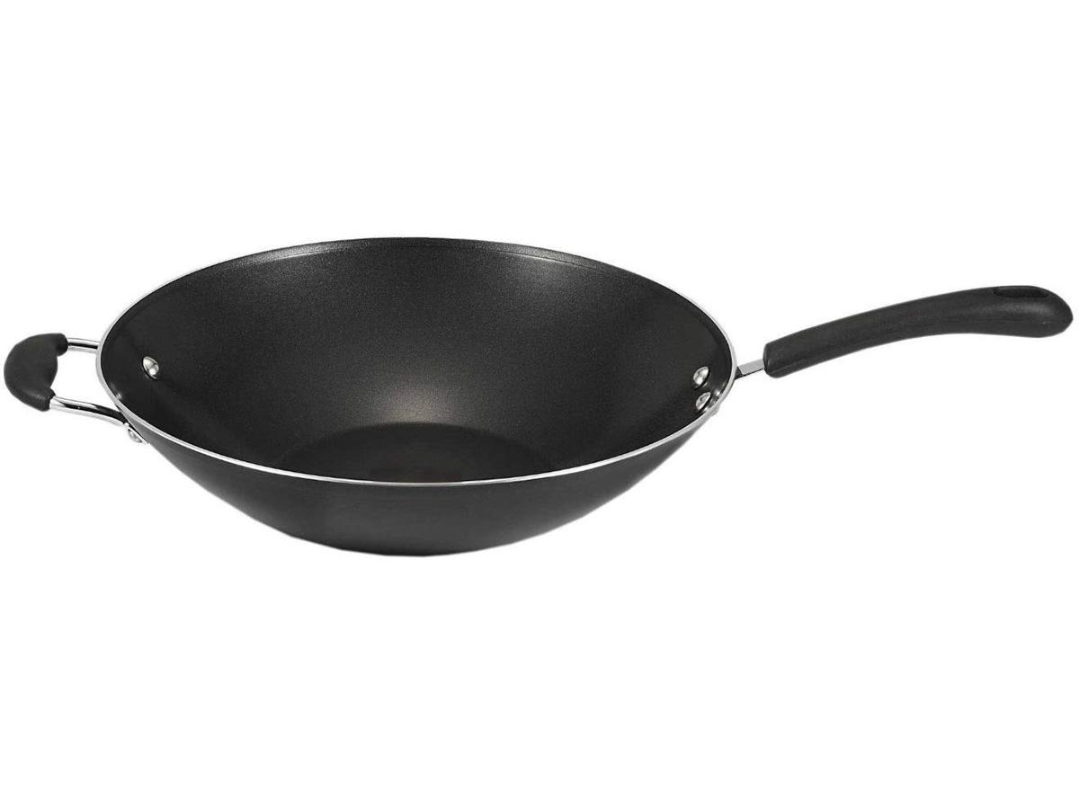 t fal non stick wok
