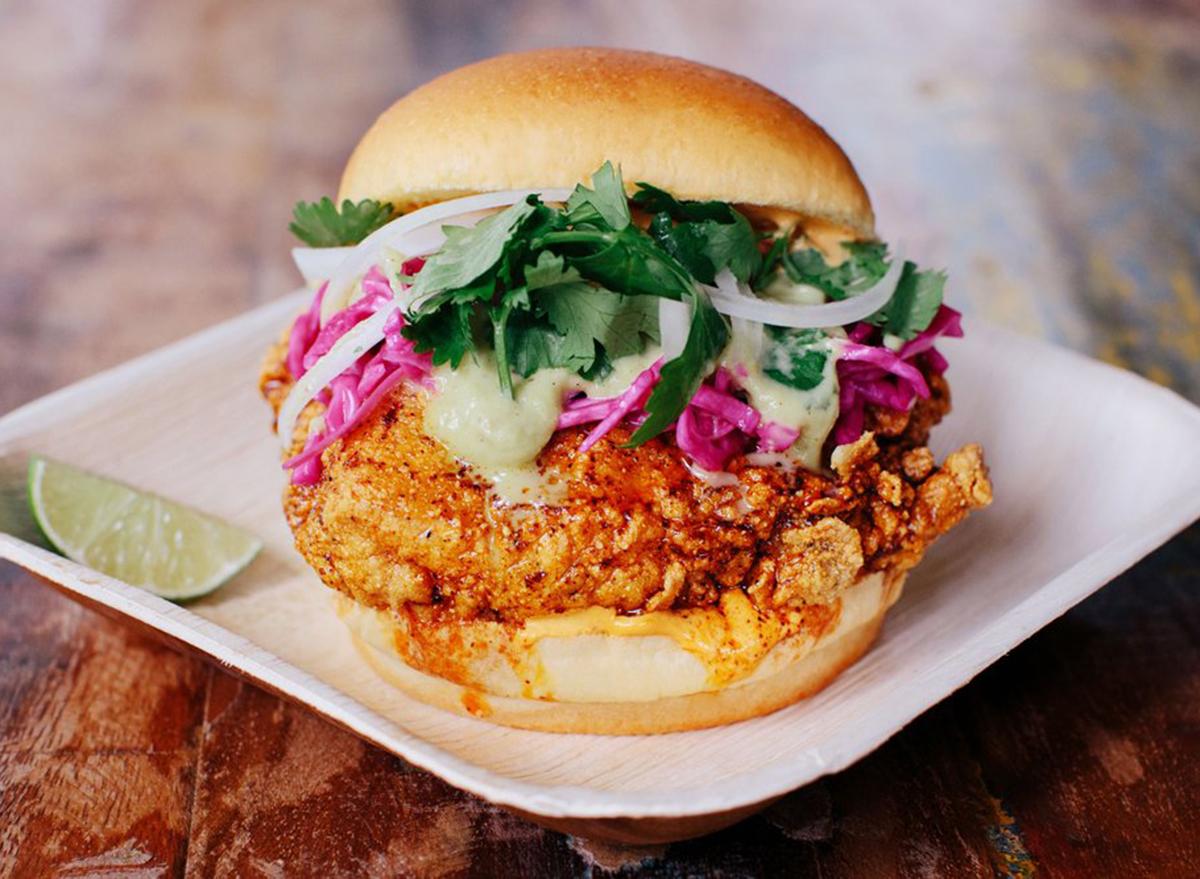 texas chicken sandwich