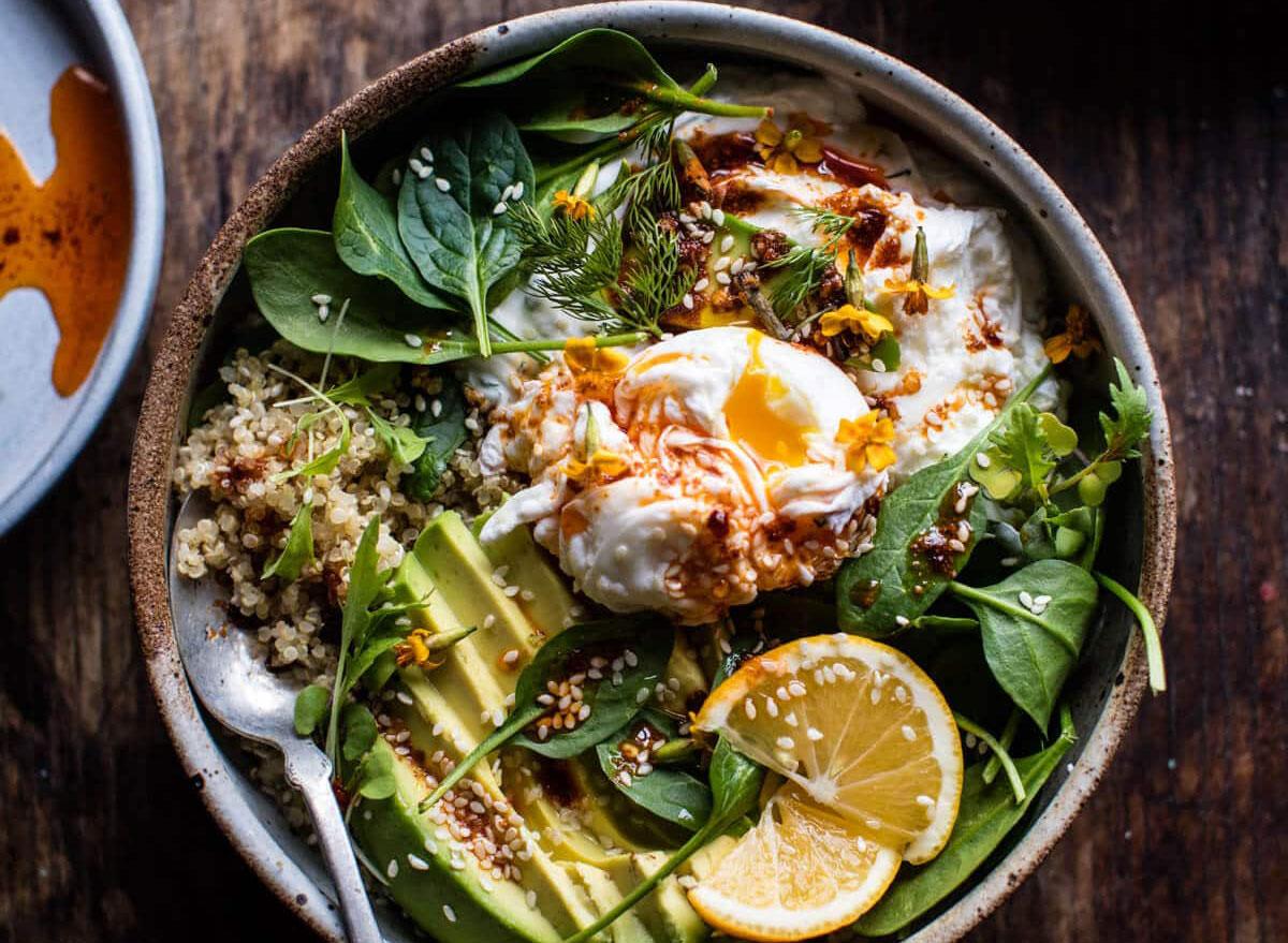 turkish breakfast bowl