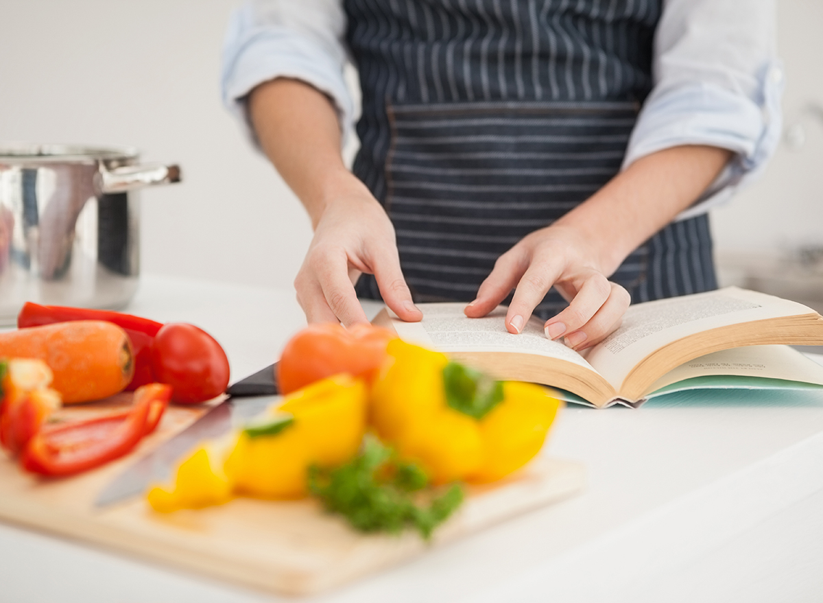 use recipe while cooking