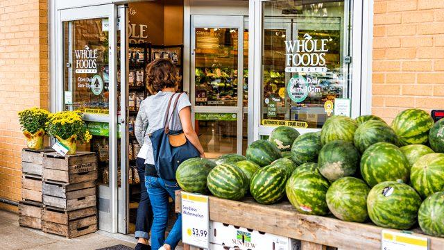 Whole foods entrance