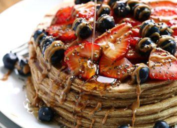 whole grain power pancakes
