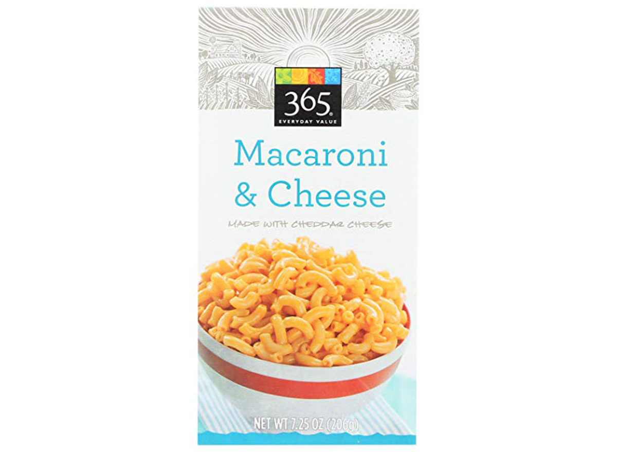 365 everyday value mac and cheese
