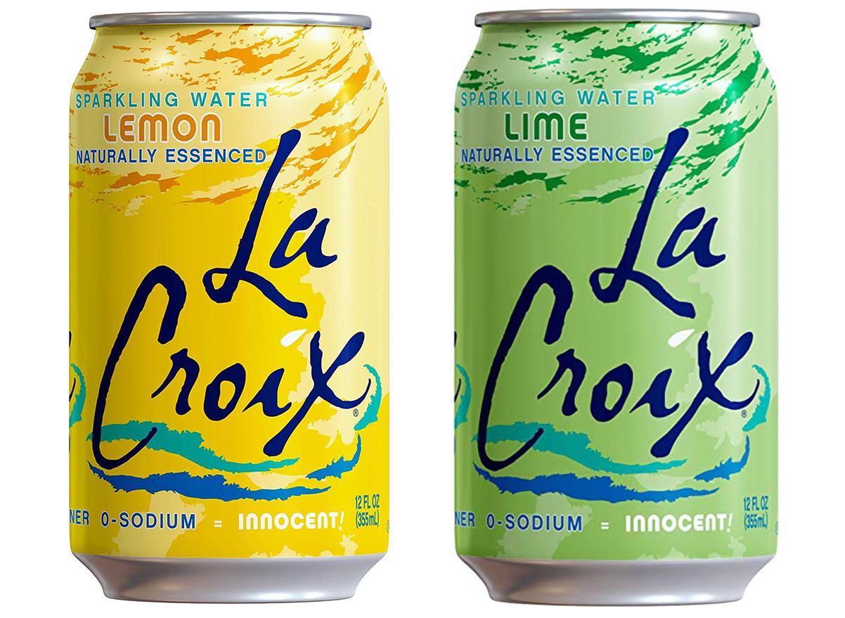 La Croix Lemon & Lime Sparkling Water