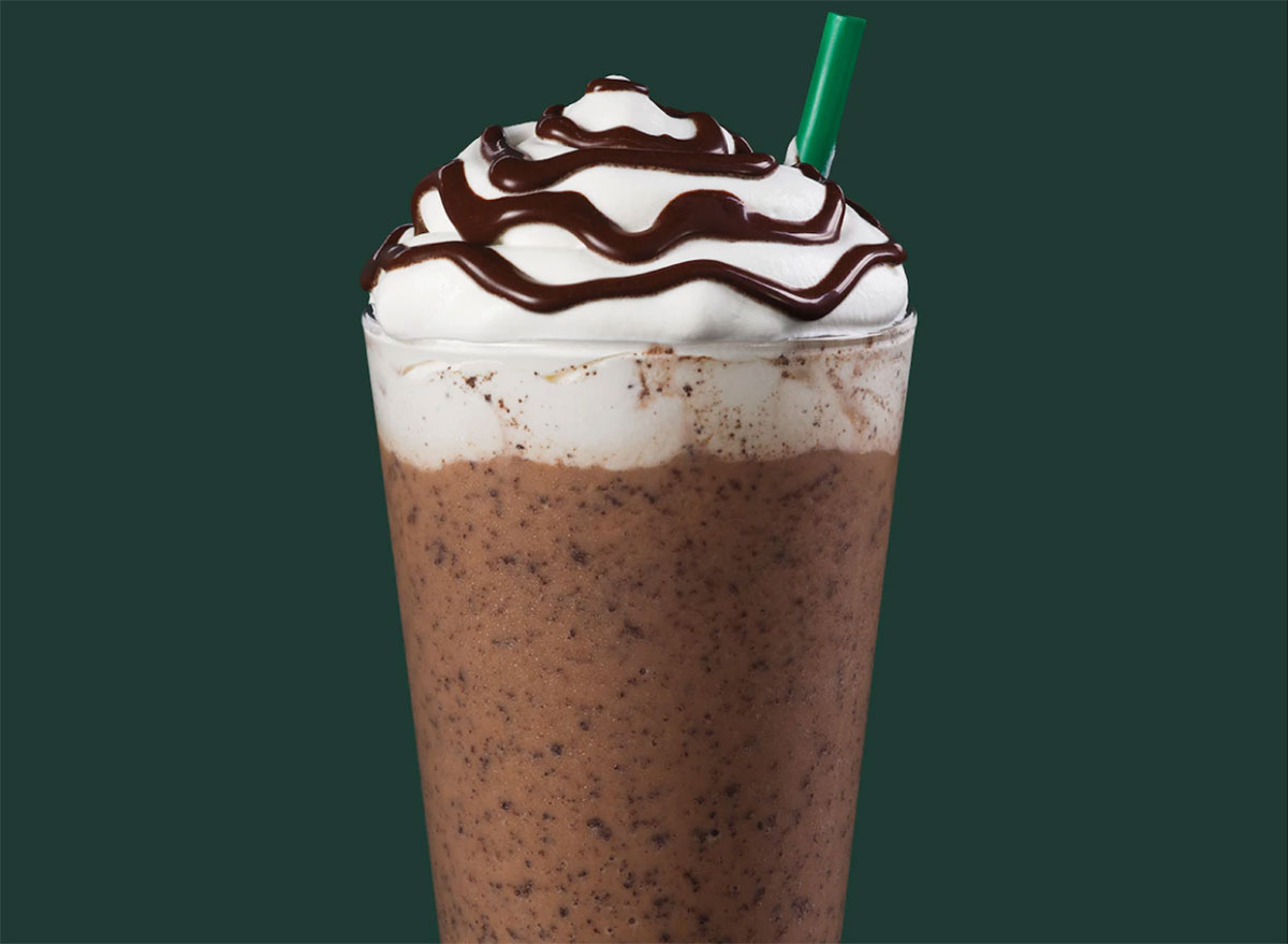 double chocolaty chip creme frappuccino