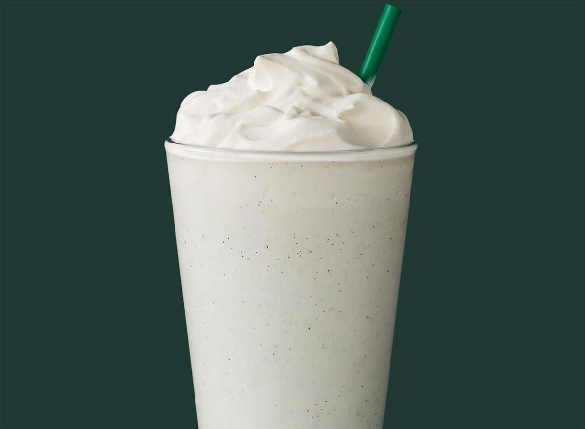 vanilla bean creme frappuccino