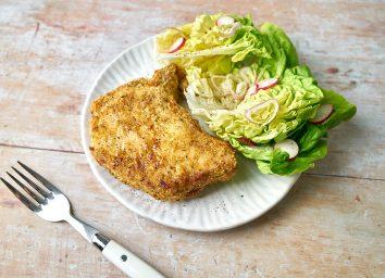 air fryer breaded pork chop 1